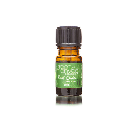 Green Envee-Heart Chakra E-oil - life by U