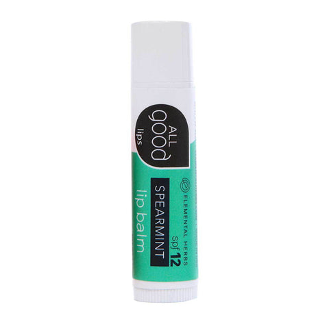 All Good Lip Balm SPF 12 Spearmint - life by U