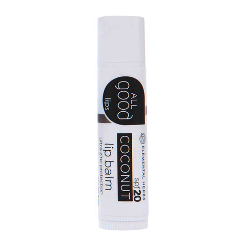 All Good Lip Balm SPF 20 Coconut - life by U