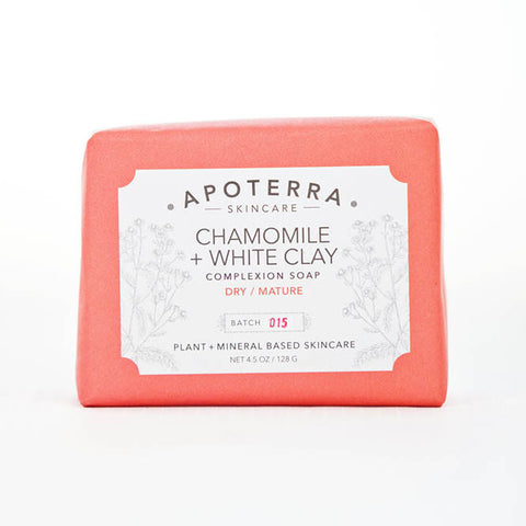 Apoterra-Chamomile and White Clay Complexion Soap