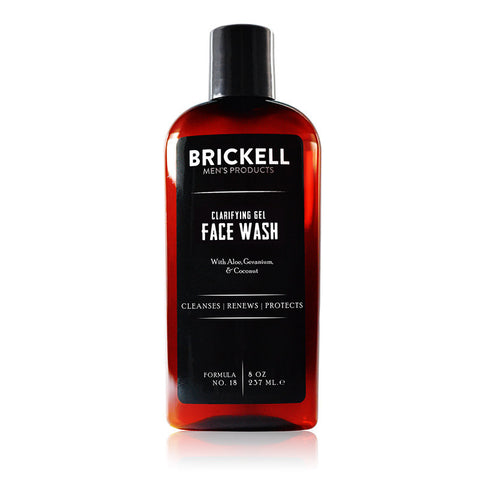 Brickell-Clarifying Gel Face Wash - life by U
