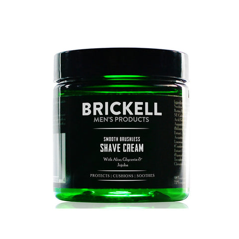 Brickell-Smooth Brushless Shave Cream for Men - life by U