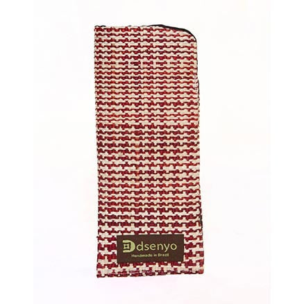 Dsenyo Reading Glass Case - Burgundy Houndstooth - life by U