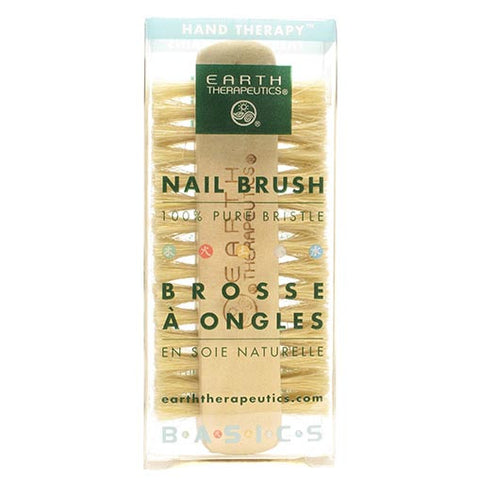 Earth Therapeutics-Genuine Bristle Nail Brush