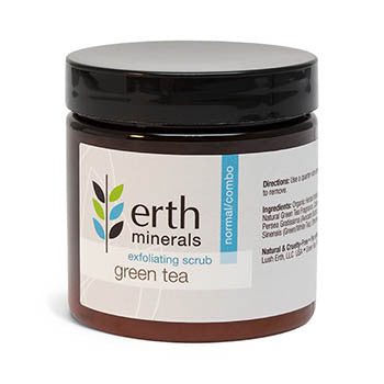 Erth Minerals-Green Tea Exfoliating Scrub