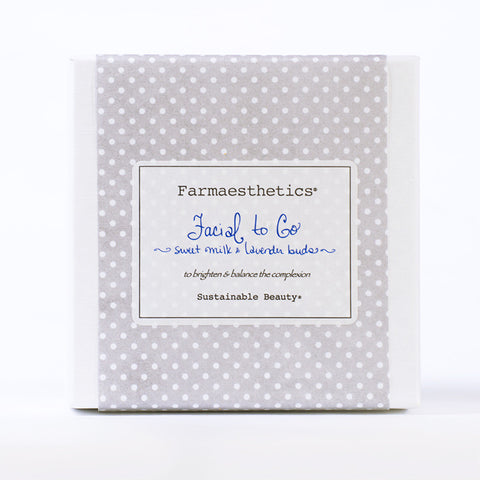 Farmaesthetics-Facial To-Go Gift Sets - Sweet Milk and Lavender Buds