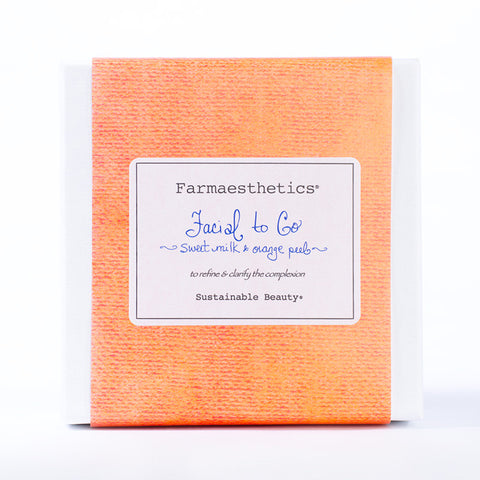 Farmaesthetics-Facial To-Go Gift Sets - Sweet Milk and Orange Peel - life by U