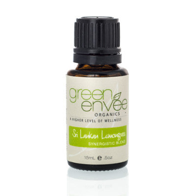 Green Envee-Sri Lankan Lemongrass E-oil - life by U