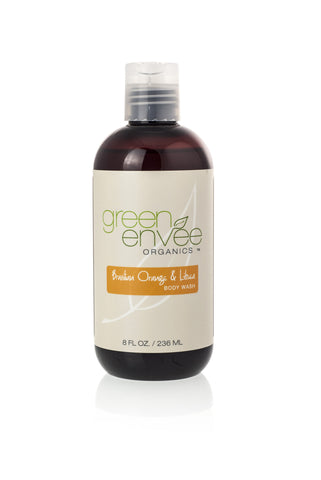 Green Envee-Body Wash - Brazilian Orange & Litsea