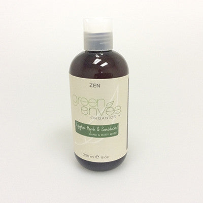 Green Envee-Body Wash - Egyptian Myrrh and Sandalwood - life by U