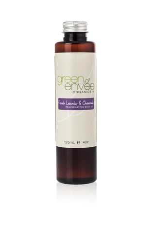 Green Envee-Body Oil - French Lavender and Chamomile