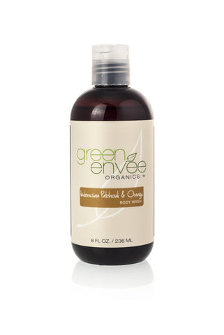 Green Envee-Body Wash - Indonesian Patchouli and Orange - life by U