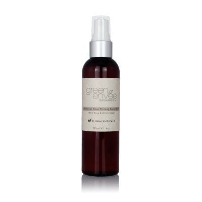 Green Envee- Moroccan Rose Firming Facial Mist with Rose & Witch Hazel 4oz - life by U