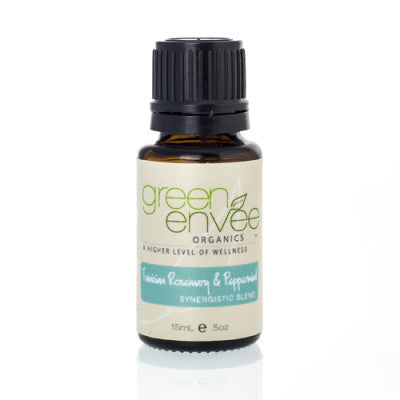 Green Envee-Refresh Tunisian Rosemary and Peppermint E-oil - life by U