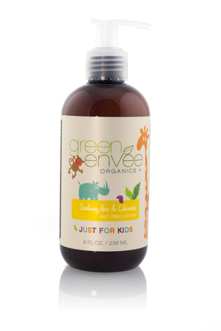 Green Envee-Soothing Aloe & Calendula Nut Free Childrens Lotion - life by U