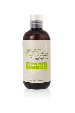 Green Envee-Body Wash - Sri Lankan Lemongrass