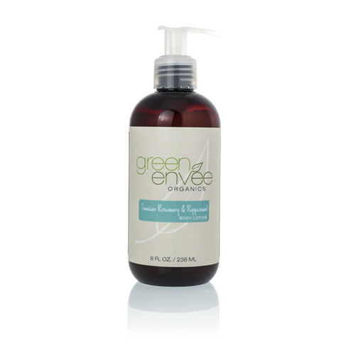 Green Envee-Body Lotion Tunisian Rosemary and Peppermint