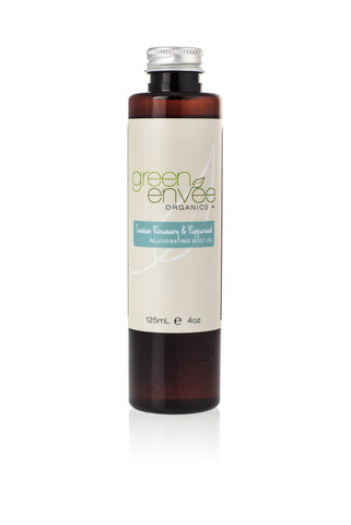 Green Envee-Body Oil -Tunisian Rosemary and Peppermint - life by U