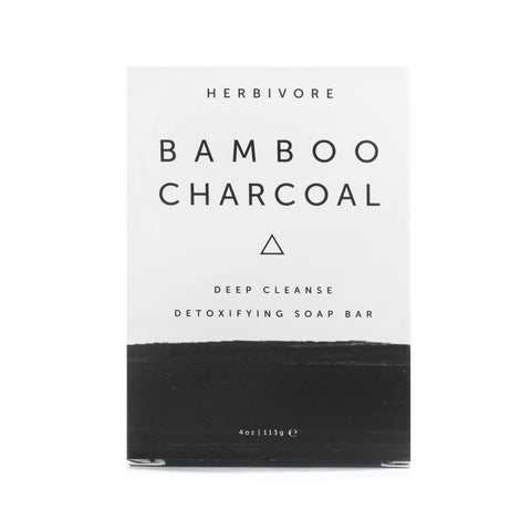 Herbivore- Bamboo Charcoal Cleansing Bar Soap