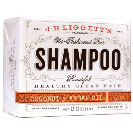 JR Liggett's Shampoo Bar - Fragrance Free - Coconut & Argan Oil 3.5 oz - life by U