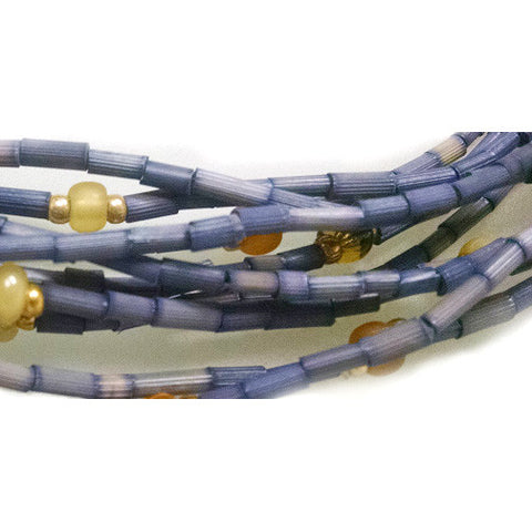 "Leakey Collection 26"" Zulugrass Single Strand- Jewel - Fair Trade - life by U"