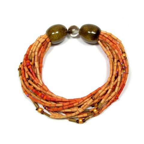 Leakey Collection Multi-Strand Bracelet - Voi - Fair Trade - life by U