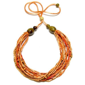 Leakey Collection Multi-Strand Necklace - Voi - Fair Trade - life by U