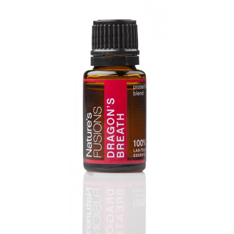 Nature's Fusions Dragon's Breath Essential Oil Blend 15 ml - life by U
