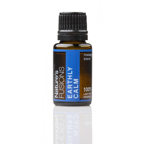 Nature's Fusions Earthly Calm Essential Oil Blend 15 ml - life by U