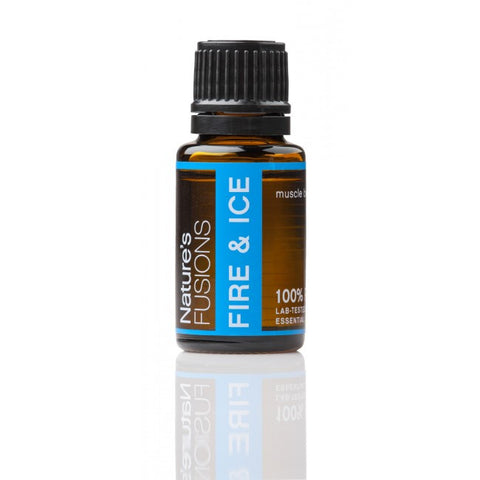 Nature's Fusions Fire and Ice Essential Oil Blend 15 ml - life by U