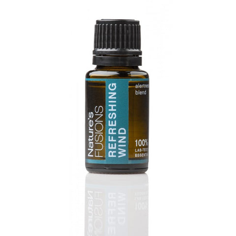 Nature's Fusions Refreshing Wind Essential Oil Blend 15 ml