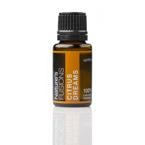 Nature's Fusions Citrus Dreams Uplifting Essential Oil Blend