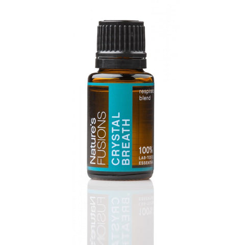 Nature's Fusions Crystal Breath Clear Breathing Essential Oil Blend