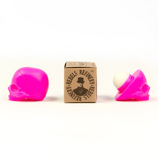 Rebels Refinery-Pink Capital Vices Skull Lip Balm Passion Fruit - life by U