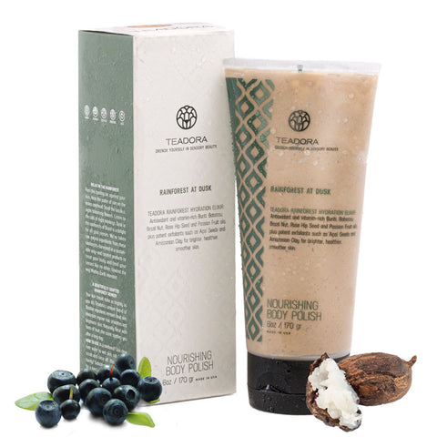 Teadora - Brightening and Exfoliating Mud Rainforest at Dusk 6 oz - life by U