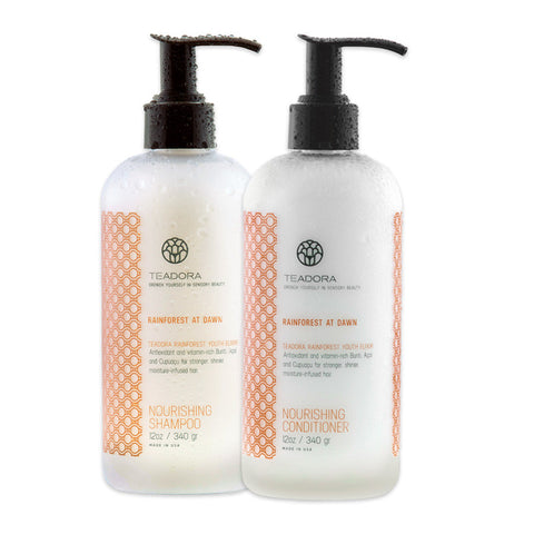 Teadora - Rainforest at Dawn Brazilian Radiance Shampoo & Conditioner Set - life by U