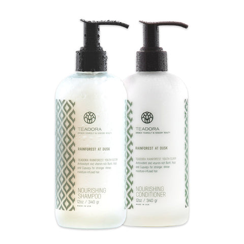 Teadora - Rainforest at Dusk Brazilian Radiance Shampoo & Conditioner Set - life by U