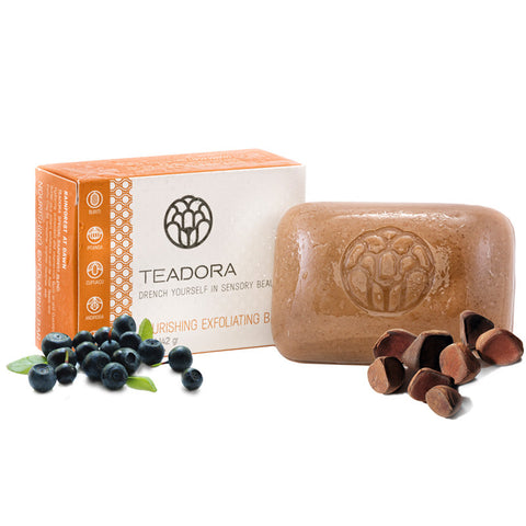 Teadora - Face and Body Exfoliating Clay Bar Rainforest at Dawn 5 oz - life by U