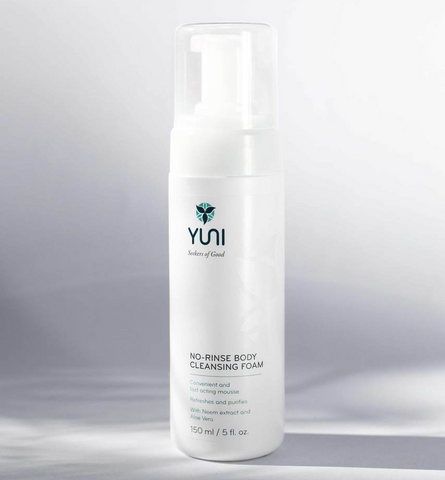 Yuni - No Rinse Body Cleansing Foam 5 oz - life by U