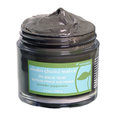 Alaska Glacial Mud Mask - Lavender Peppermint 3.5 oz - life by U