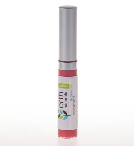 Erth Minerals-Vegan Lip Gloss - Carnation