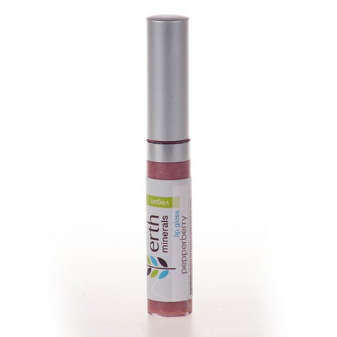 Erth Minerals-Vegan Lip Gloss - Pepperberry