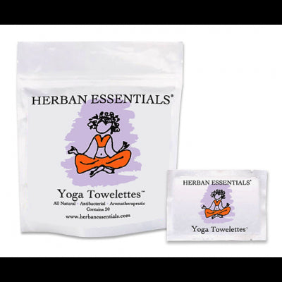 Herban Essentials Towelettes - Yoga 20 ct. - life by U