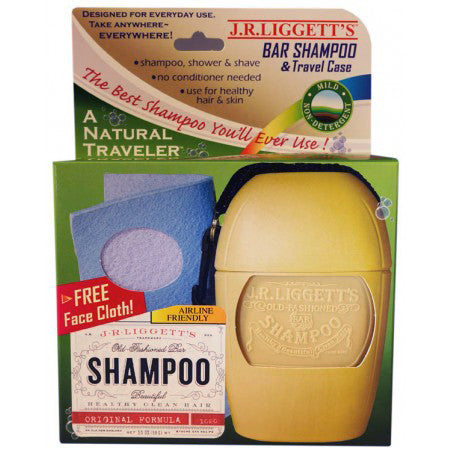 JR Liggett's Bar Shampoo and Travel Case - life by U