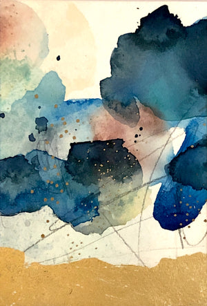 Watercolor Abstraction 0017