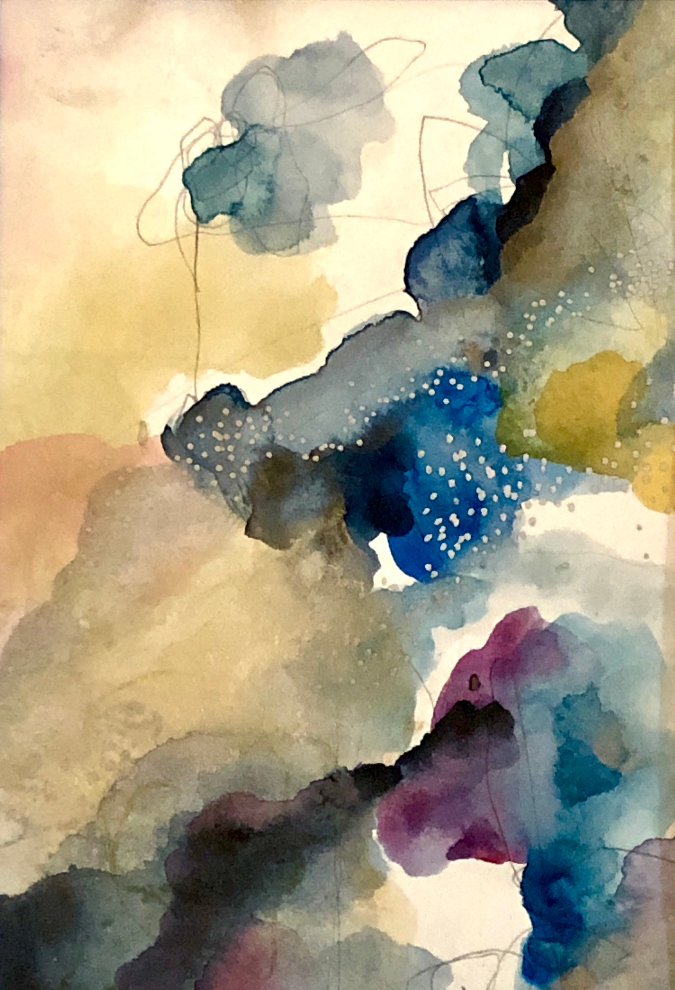 Watercolor Abstraction 0016