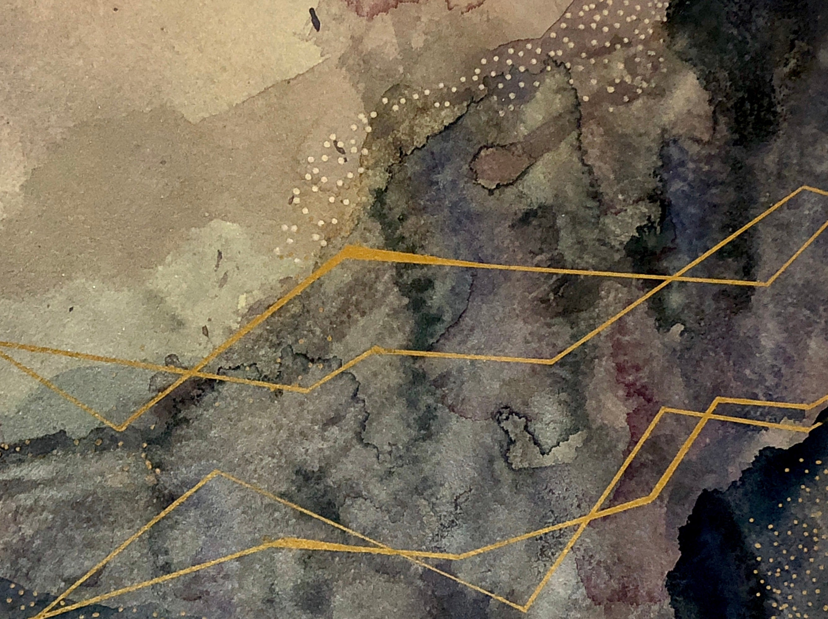 Watercolor Abstraction 0012