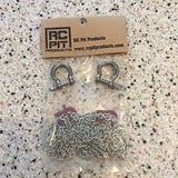 1:10 Scale Chain with Shackles (Red) 890mm US Seller