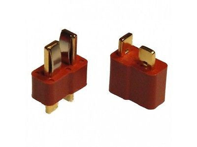 Deans Type 10 Pair Male and Female T Plug Connectors   Ships from USA