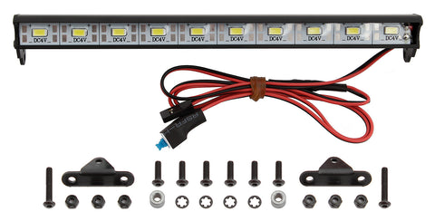 XP 10-LED Aluminum Light Bar Kit (170mm) by RC Pit Products